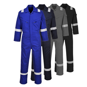 Fluorescent Men Workwear Coveralls