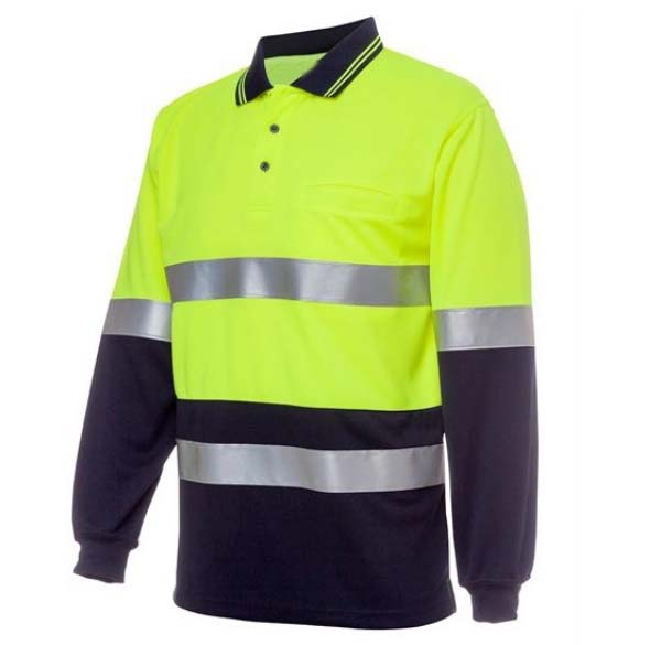 HiVis Polo Shirt Safty For Sale